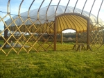 Elfin yurt party yurt for hire
