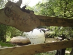 Sapperton Yurt entrance