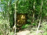 The compost loo for Mole End Yurt